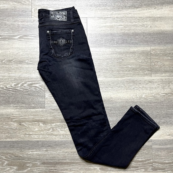 Rerock Jeans black with tag skinny size 29